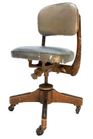 Artist Office Chair Adjustable Rolling Industrial Boho Chic | Chairish