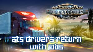 100 Yellow Trucking Jobs Drivers Return With V1 ATS Mods American Truck Simulator