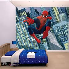 Wall Mural Decals Amazon by Wall Ideas 1 Wall Marvel Avengers Hulk Ironman Spiderman Photo