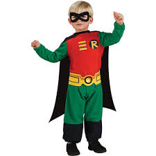 Rubie's Costumes Teen Titan Robin Infant/Toddler Costume-R885209_T24 ...