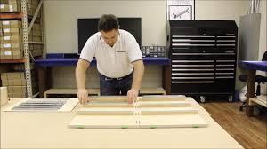 Target 4 Drawer Dresser Instructions by 3 Drawer Dresser Assembly Youtube