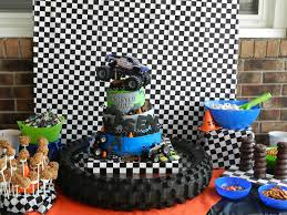 Monster Jam Party- Love The Blue , Orange , And Checker Print ... Monster Truck Birthday Party 131430 Supplies Elegant Decorations Jam 3d Paper Hats This Started Monster Truck Backdrop 9 Oz Cups 8 Top Popular 72076 Canada Open A Terbaru 2017 Tondeusebarbefrinfo Real Parties Modern Hostess Youtube Dessert Plates Halloween Ideas 2018 Birthdayexpress Dinner Plate 24
