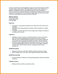 100 Dental Assistant Resume Templates Resume