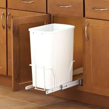 Under Cabinet Trash Can Holder by Undercounter Trash Bin With Lid Diy Under Cabinet Trash Can Under