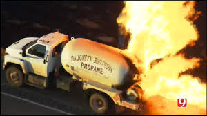 100 Propane Truck Explosion WEB EXTRA SkyNews 9 Flies Over Scene Of Fire
