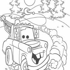 Ivan From Disney Cars 2 Coloring Page