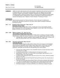 Timeshare Sales Resume