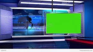 News TV Studio Set 32