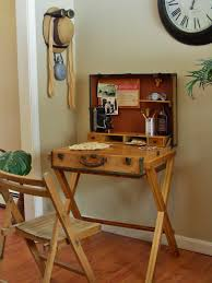 The Suitcase Desk RepurposedDIY Pinterest Suitcase