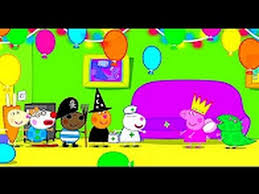Peppa Pig Fancy Dress Party Coloring Pages Book