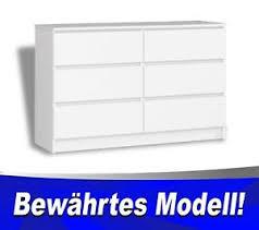 details zu kommode mit 6 schubladen weiß kommode für büro schlafzimmer geprüftes produkt