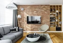 deco canapé gris design interieur tendances déco aménagement salon étagères murales