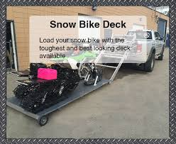 Sled Deck Ramp Width by Full Lotus Builds The Highest Quality Sled Atv And Snow Bike Decks