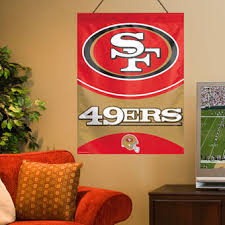WinCraft San Francisco 49ers 27 X 37 Primary Vertical Banner Flag