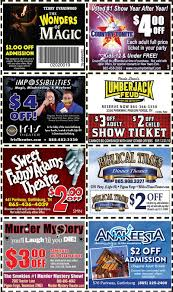 Coupons For Attractions In Gatlinburg Tennessee / Wcco Dining Out Deals Orlando Deals Offers Discounts For Fl Lumberjack Feud Coupons And 3 Off Each Ticket 10 Things Not To Miss At Nderworks Myrtle Beach Mom Files Attractions Smoky Mountain Coupon Book Hatfield Mccoy Dinner Show 5 Wristband Com Coupon Code In Russia 24 Hour Wristbands Blog Harbor Freight Tools Get Fresh Elmira Corning Ny By Savearound Issuu Wonderworks Toy Store Van Heusen Outlet Allaccess Tickets Groupon