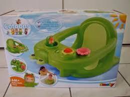 siège de bain pour bébé siège anneau de bain bébé par paqueretteetcoquillette