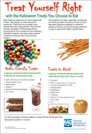 Healthy Halloween Candy Tips by Trick Or Treat How To Keep Your Braces Clean This Halloween