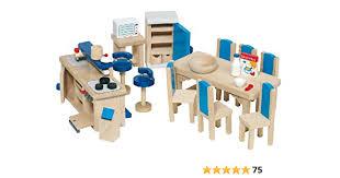 goki 51907 küche 30 teilig puppenhausmöbel