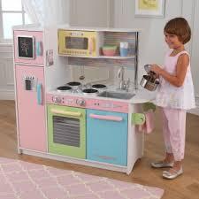 cuisine bois kidkraft jouets des bois cuisine en bois uptown pastel 53257 kidkraft 53257
