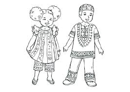 Kwanzaa Kinara Coloring Page Clothes For Kids Colouring Pages Mat Pdf