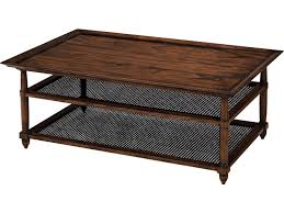 Milling Road Living Room Cane Cocktail Table MR2050 Toms Price