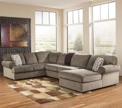 furniture sectional with oversized ottoman ashley sectional