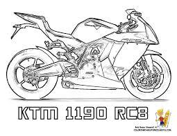 Motorcycle Coloring KTM 1190