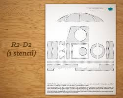 Star Wars Printable Pumpkin Carving Templates by Printable Pumpkin Carving Pattern Star Wars R2 D2