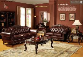 Brown Furniture Living Room Ideas by Living Room Cozy Leather Living Room Furniture Ashley Leather