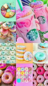 Cosas Dulces Starbucks Donuts UnicornsVibes