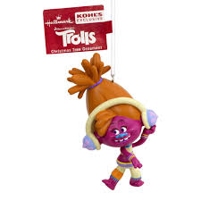 Kohls Christmas Tree Toppers by Dreamworks Trolls Dj Suki Christmas Ornament By Hallmark