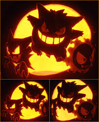 Nerdy Pumpkin Carving by Totally Stealing This Wonderful Idea Pokemon Pumpkin C Vidya