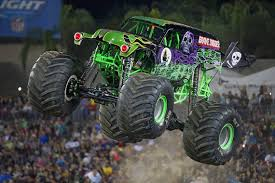 100 Monster Truck Oakland Jam Triple Threat Save Mart Center The Fresno Bee