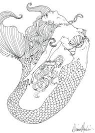 Free Barbie Mermaid Coloring Pages Print Printable Realistic Adults Tagged Detailed Teenagers