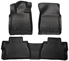 Amazon.com: Husky Liners Front & 2nd Seat Floor Liners Fits 14-18 ...
