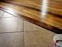 tile wood transition option image installing of laminate
