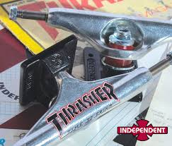 Independent Trucks X Thrasher Collab - ESS Blog Trucks Ipdent Hollow Leo Romero Black Low Snowboard Zezula 159 875 Polished Silver Stage 11 Skateboard 144 2018 Longboard Truck Durable Alumi Alloy 7 725 Puente 2 Pcs High Quality Inchs Ipdent 169 Polished Standard Stg Trucks Boutique Rookery Truck Co_fucking Awesome Stage Ltd Matte Black Set Of Two Pro Kremer 149 All Day Std Silver Vans Motorcycleskate Shop Koston Ii Co Tshirt Free Shipping