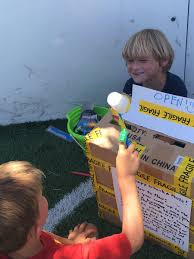 Gina Thackrey On Twitter Cardboard Carnival Ymca Kid Created Whack A Mole Game Even The Hammer Is Straw 2 Cups Kidsdeserveit MakerEd Summerfun
