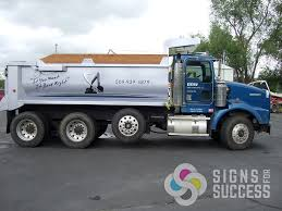 Dow Dump Truck - Signs For Success