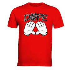new dope diamound mouse hands funny t shirt dope swag for men