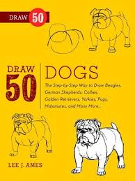Cover Image Of Draw 50 Dogs