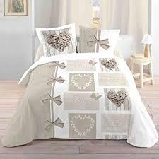 housse de couette amazone lovely casa housse de couette coton blanc 260x240 cm fr