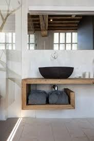 waschtisch holz für aufsatzwaschbecken bauen modern