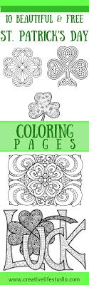 St Patrick Day Coloring RoundUp