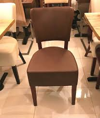 100's Restaurant Chairs In Faux Leather - London