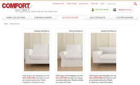 Ikea Kramfors Sofa Slipcover by How To Design My Own Sofa Slipcovers On Comfort Works Comfort