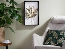 wanddekoration curium gold schwarz weiss ch
