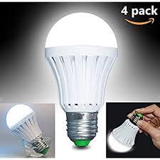 ctkcom led light bulbs 5w 4 pack emergency ls household