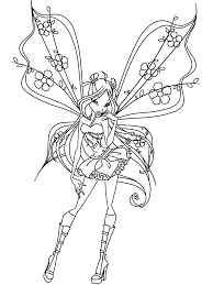 Fairies 17 Fantasy Coloring Pages