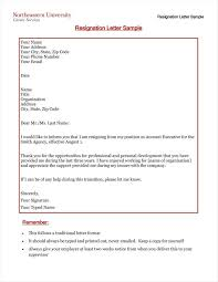 Free Download 13 Formal Resignation Letter Template Free Word Excel